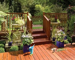 Hardwood Square Baluster Deck (Richard Burbidge) Tags: decks decking deckrailing deckboards wooddecking gardendecking richardburbidge deckingbalustrade deckingrails deckingbalustrades