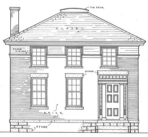 The Warren House, drawing 3