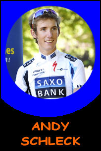 Pictures of Andy Schleck!