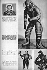 ... early spacesuit research (x-ray delta one) Tags: mars illustration vintage mercury space astronaut nasa 1950s skylab scifi lifemagazine 1960s outerspace tomorrowland apollo gemini mir cosmonaut vostok thefuture aerospace cccp saturnv soyuz worldoftomorrow spacerace spaceexploration magazineillustration wernervonbraun robertmccall chesleybonestell willieley