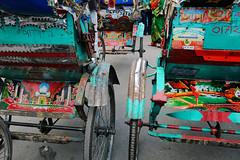 Rickshaw Art (Leonid Plotkin) Tags: art asia dhaka rickshaw bangladesh cyclerickshaw rickshawart