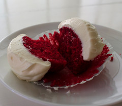 Red Velvet Cupcakes from Scratch