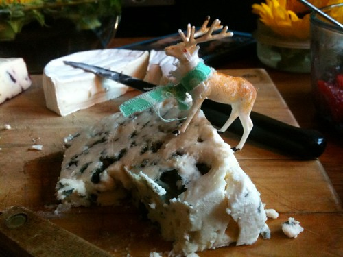 Fairfax mounts the Stilton