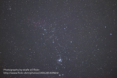 Scorpius' Tail (Prawn Nebula IC 4628 and NGC 6231 Widefield) (dcafe) Tags: Astrometrydotnet:status=solved ic4628 astro:orientation=17318 ngc6231 astro:name=ic4628 Astrometrydotnet:version=14400 prawnnebula Astrometrydotnet:id=alpha20100797783070 astro:name=thestar1sco astro:name=thestar2sco astro:name=ngc6231 astro:name=ngc6268 astro:RA=253474630757 astro:Dec=410598137779 astro:pixelScale=949 astro:fieldsize=422x281degrees gum56