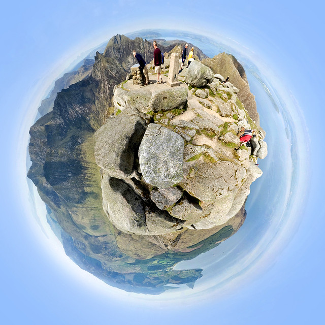 Goatfell Summit - Spherical Panorama