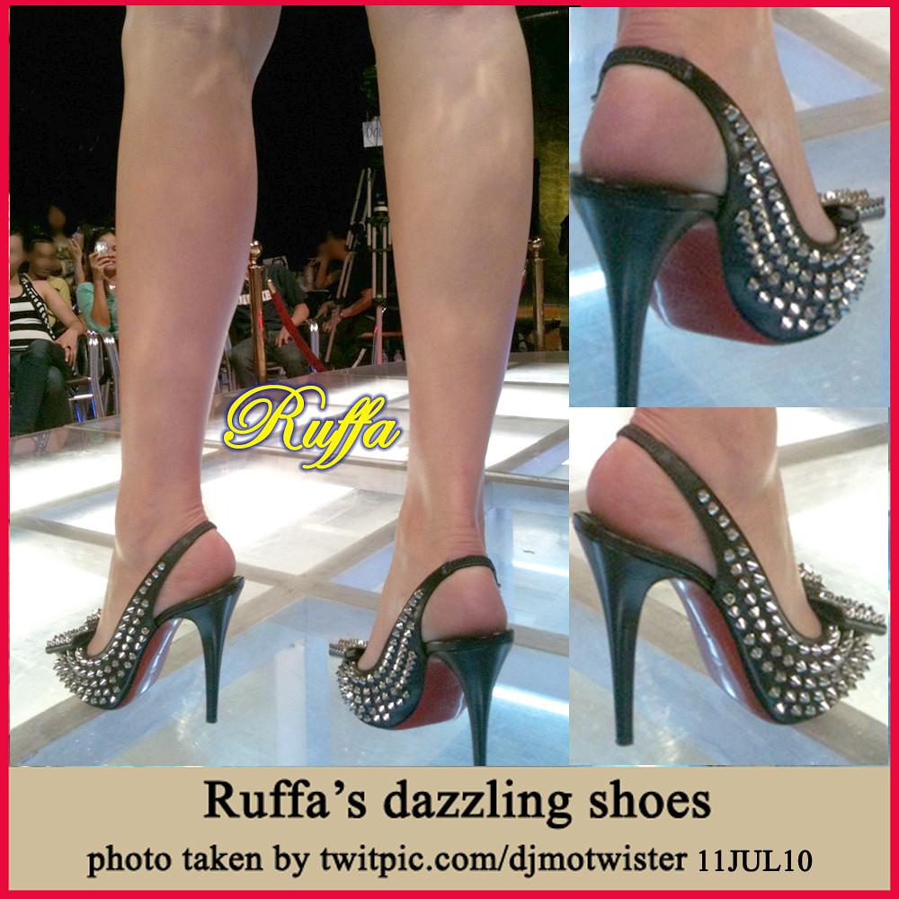 Ruffa Gutierrez - Dazzling Shoes July 2010
