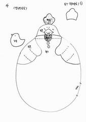 Pega Panela 1 (Luciana de Campos) Tags: galinhas riscos moldes aplicação patchcolagem