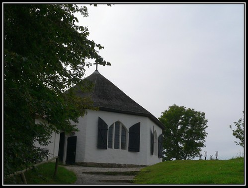 Reetdachkapelle in Vitt