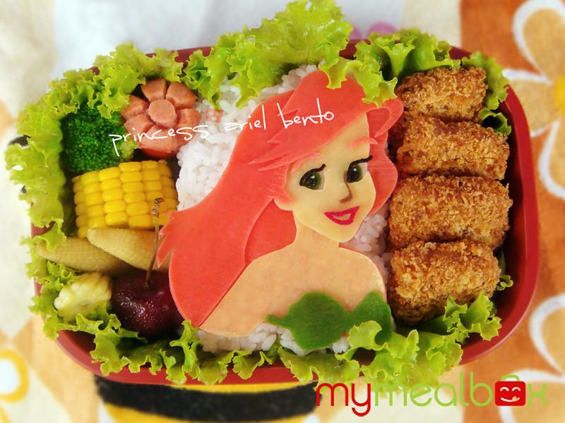 Princess Ariel bento