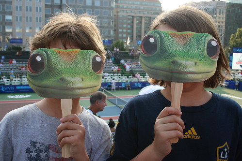 Geico was a heavy supporter of the Kastles.
