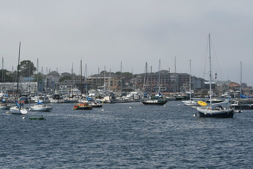 cannery row from wharf one