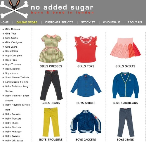 Tienda online de moda infantil, No Added Sugar