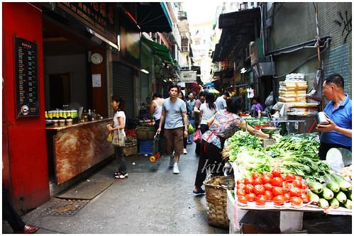 Macau Market Sidestreets