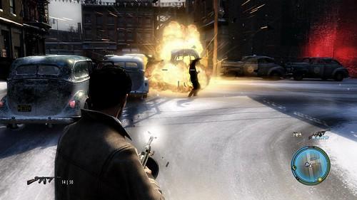 MafiaII_JulyPreview_StreetExplosion