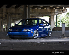 Donny Mk4 GLI (Joe Dantone) Tags: pictures street city blue philadelphia vw speed volkswagen photography photo exposure shoot photographer image photos oz pegasus picture joe philly gli flush aggressive lowered h20 hella imagery slammed coilovers waterfest falkin dumped vdub mk4 streetline dantone speedexposure joedantone