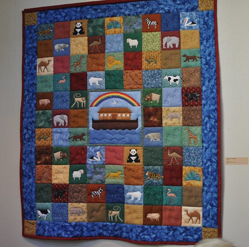Noah's Ark quilt, SMofA quilt show 2010