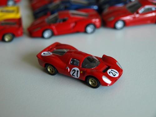 1/100 フェラーリミニカーコレクション