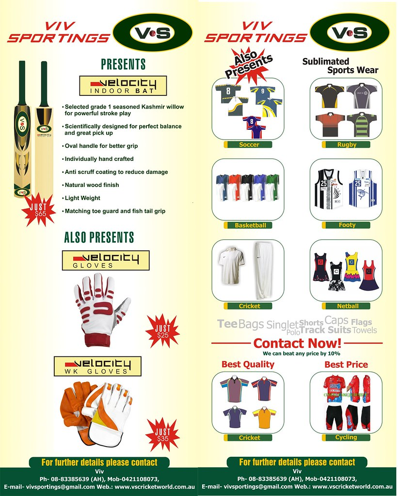 Sports Equipment and Sports Wear