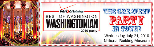 Washingtonian Best of Party 2010