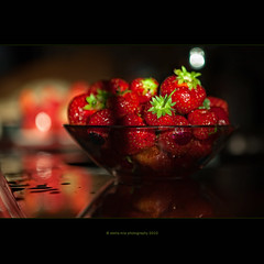 taste of summer (stella-mia) Tags: summer strawberry sommer jordbr fragaria  strawberryfieldsforever   tasteofsummer