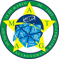logogamat2010 (Andr Amarante Luiz) Tags: logo de e da grupo astronomia 2010 signos unesp astrologia matematica astronomico ibilce gamat