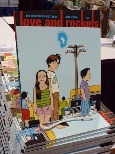 Comic-Con 2010 debut: Love and Rockets: New Stories #3 by the Hernandez Brothers