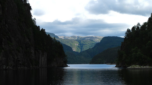 Fjord Tour Near Bergen, Norway
