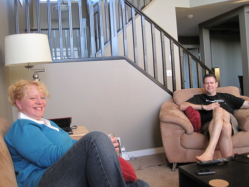 Visiting Tanya (aka Netchick) and Barry Desrosiers
