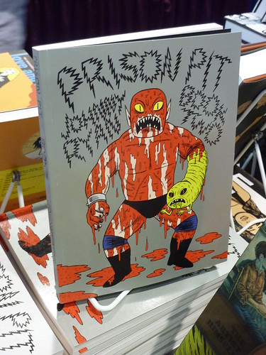 Comic-Con 2010 debut: Prison Pit Book 2 by Johnny Ryan