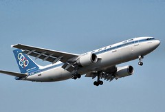 Olympic Airlines Airbus A300. Author, Arpingstone, public domain
