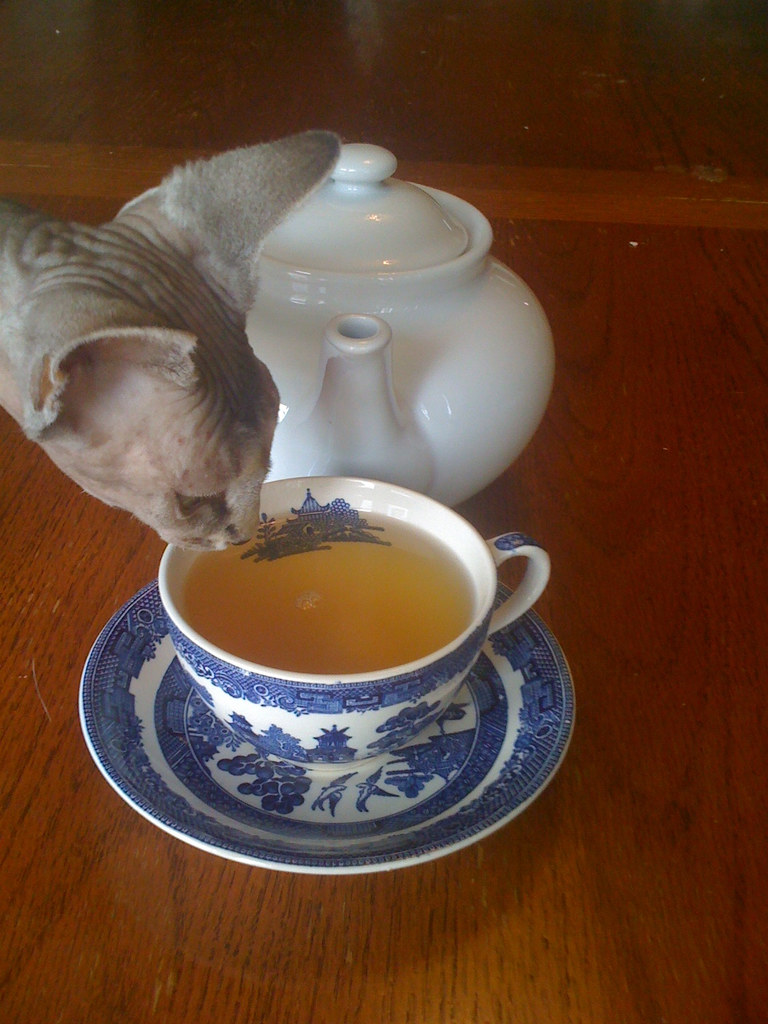 Smudge and tea