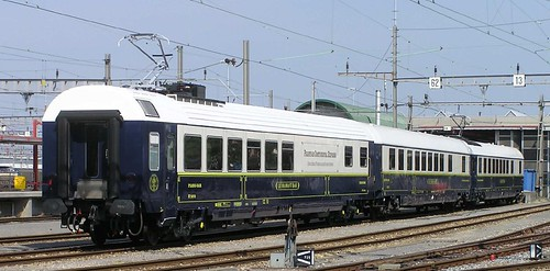 Swiss luxury train carriages