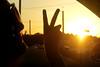 Peace can make the world seem bright, (brooke .) Tags: light sun love window smile car jessie silhouette hearts outside evening peace bright god faith jesus shades believe trust iloveyou brightness hardees rhea 1corinthians13 whenthesungoesdown ridinsolo