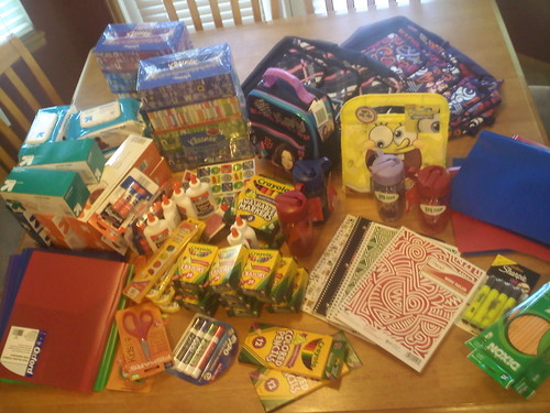 School Supplies  for 4 Kids...
