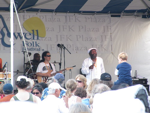 reggae at the park, Lowell Folk Festival 2010