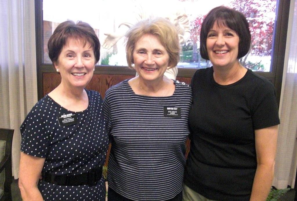 Maria, Ann Ray, Michelle Skinner