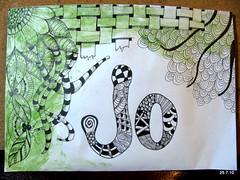 Jo (Jo in NZ) Tags: pen ink drawing line doodle zentangle nzjo zendoodle