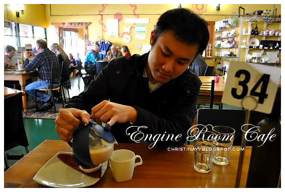 Engine Room Cafe Toowoomba: Engine Room Chai