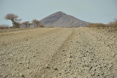 6a. Typical stony road north of Marsabit
