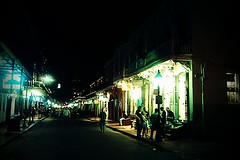bourbon street just ain't bourbon street no more. (Nick_Runyan) Tags: lights neworleans chill thegoodlife blissedout