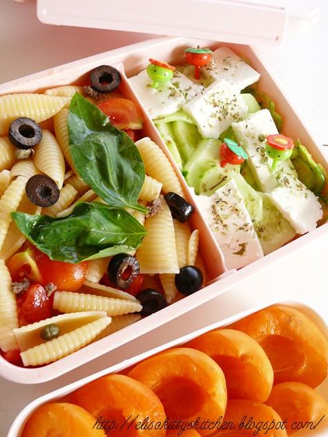 Bento Week: Bento con insalata di pasta
