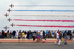 The Red Arrows, Sunderland Air Show (D.J. De La Vega) Tags: show leica red air international arrows x1 sunderland roker colorphotoaward