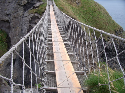 Carrick Rede Rope Bridge North Ireland