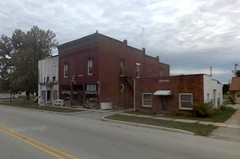 Main Street, Fulton, IN (via Google Earth)