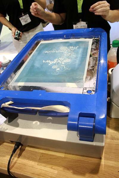 yudu silkscreen machine