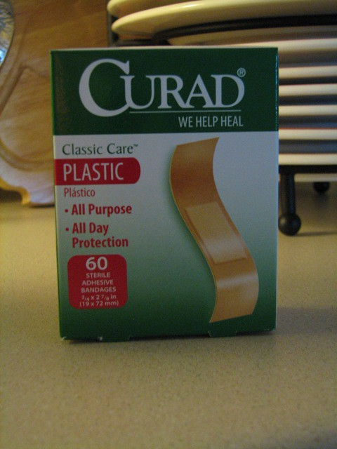bandaids for injuries