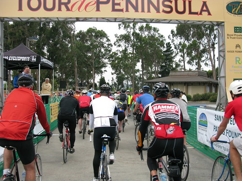 Tour de Peninsula 2010 start