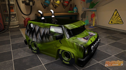 ModNation Racers: Green Monster Van