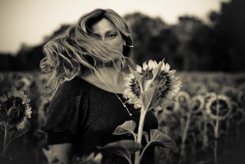 In the sunflower field #6