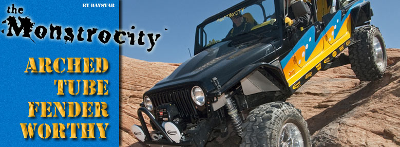 Daystar Monstrocity Extreme Jeep Build With Arched Jeep Tube Fenders